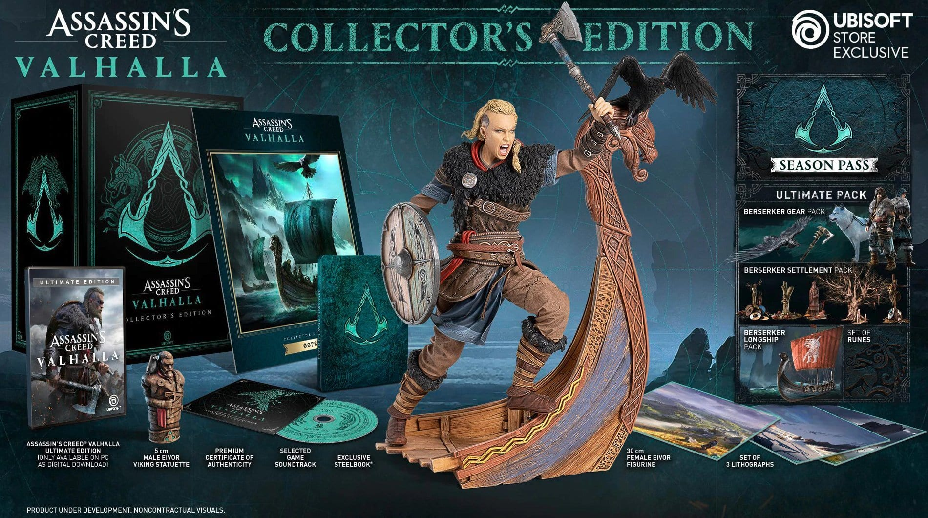 Assassin's Creed Valhalla Special Editions Confirmed & Detailed