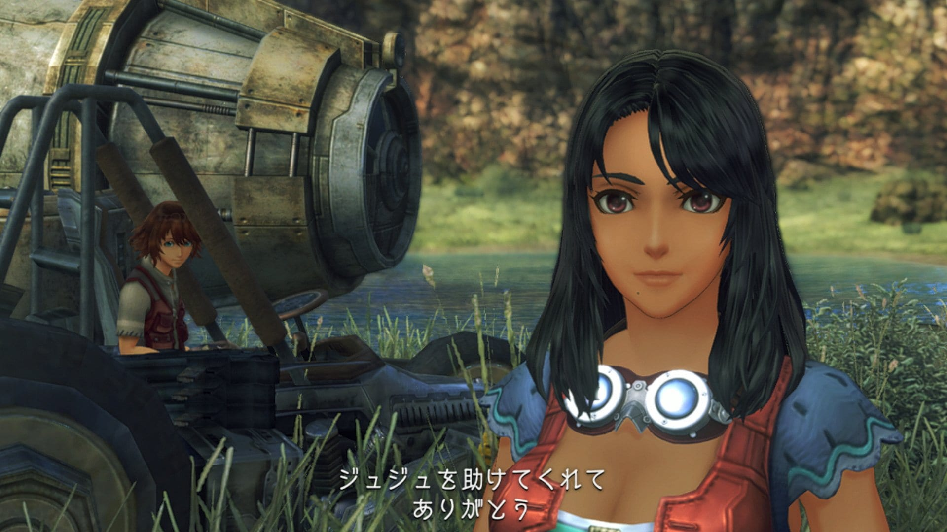 xenoblade chronicles screenshots and key art, definitive edition