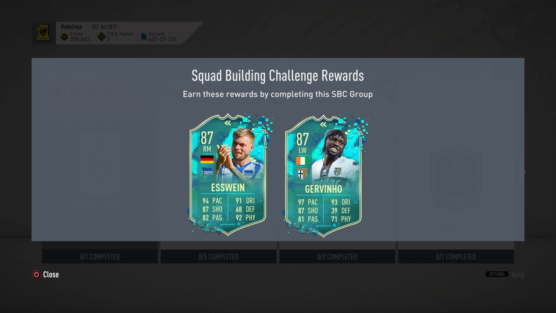 Fifa 20 How To Complete Oldie But Goldie Sbc Flashback Gervinho