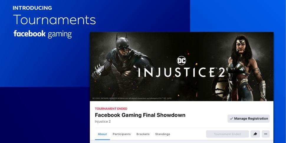 Facebook, Facebook Gaming, Tournaments