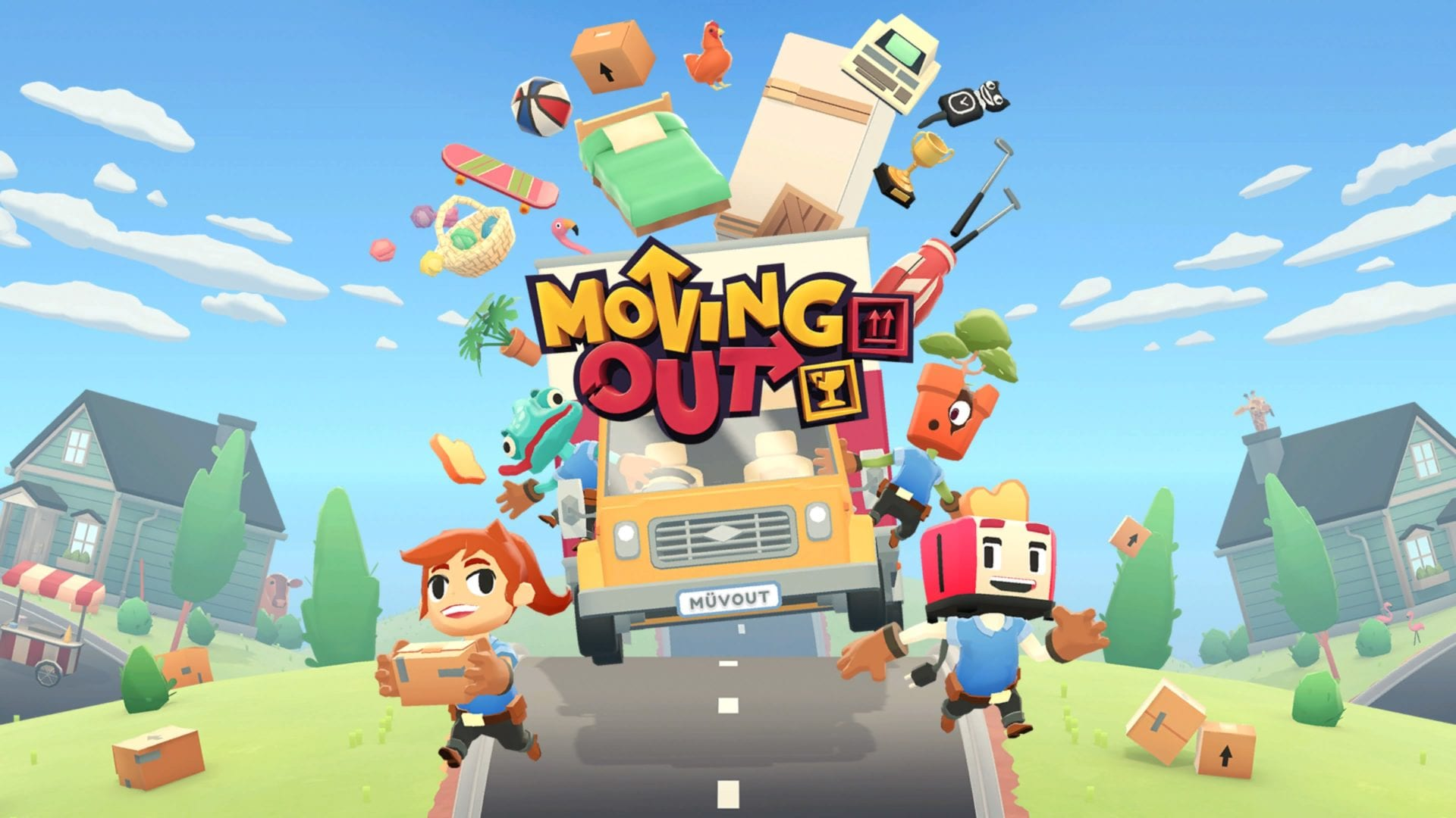 Moving Out, online multiplayer