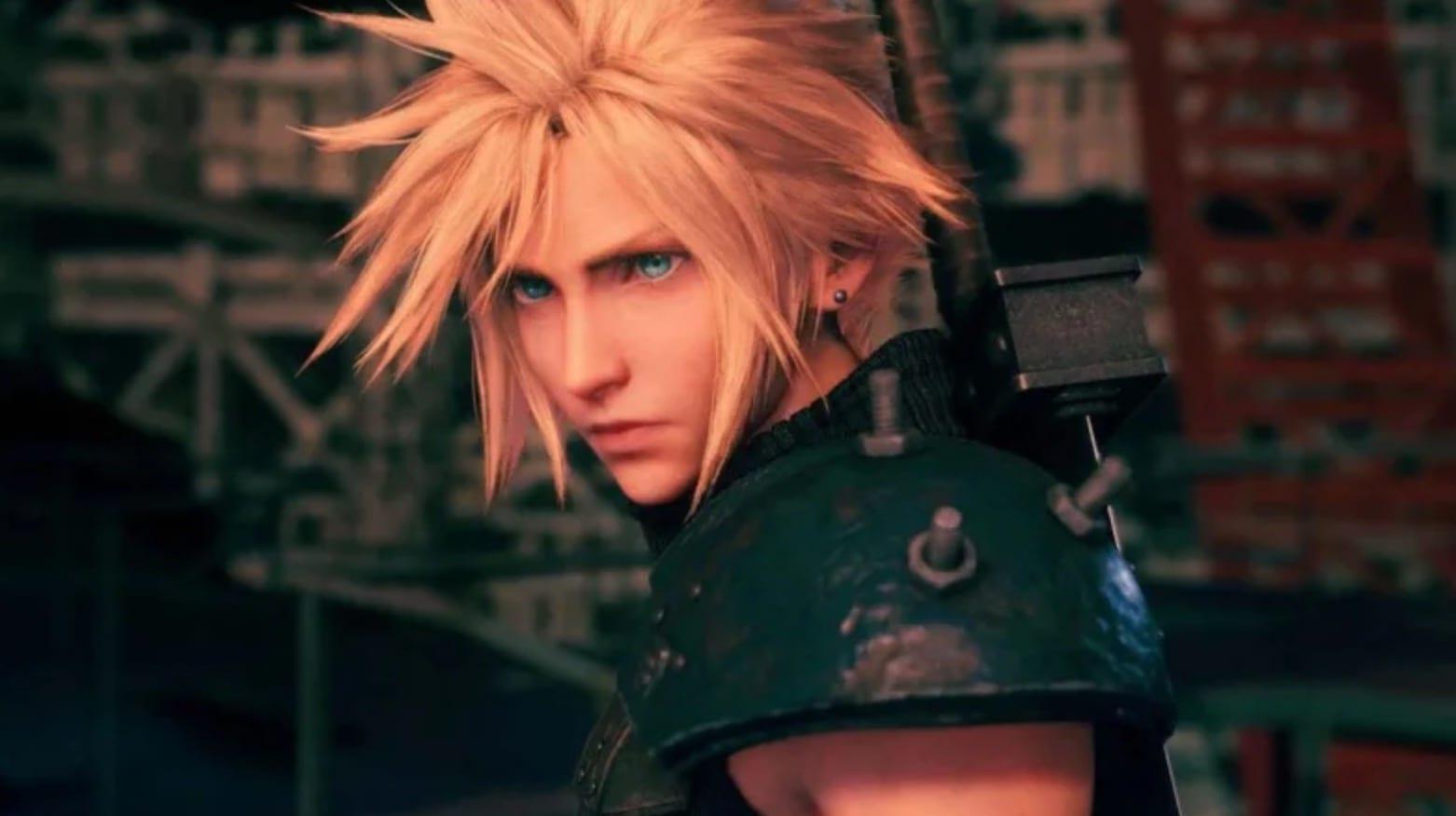 Final Fantasy VII Remake: lock on