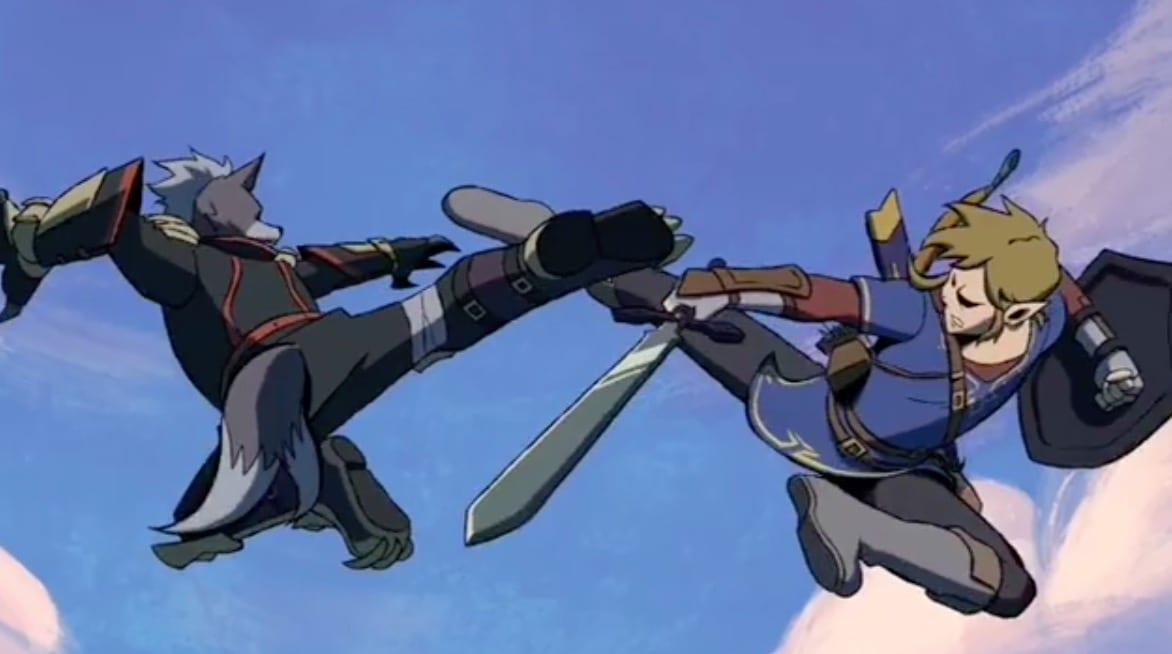 super smash bros , nintendo, anime