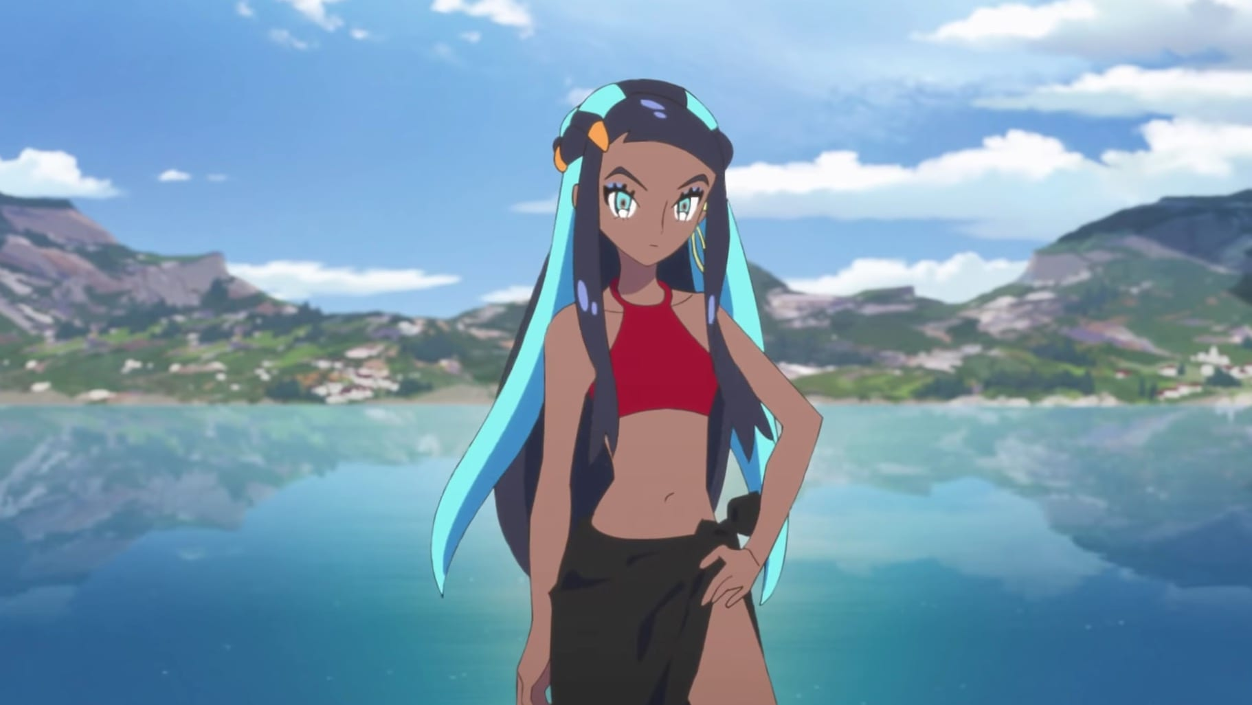 pokemon twilight wings anime, nessa, sword and shield