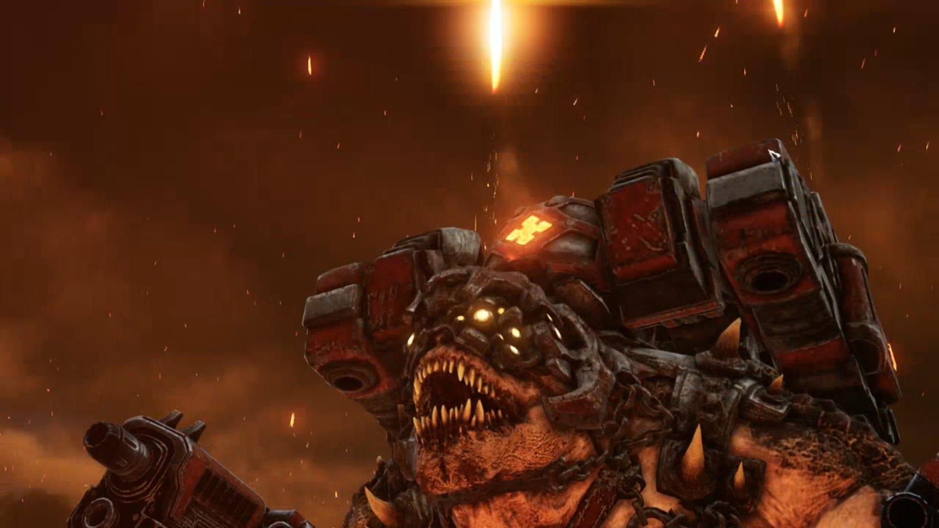Gears Tactics Brumak