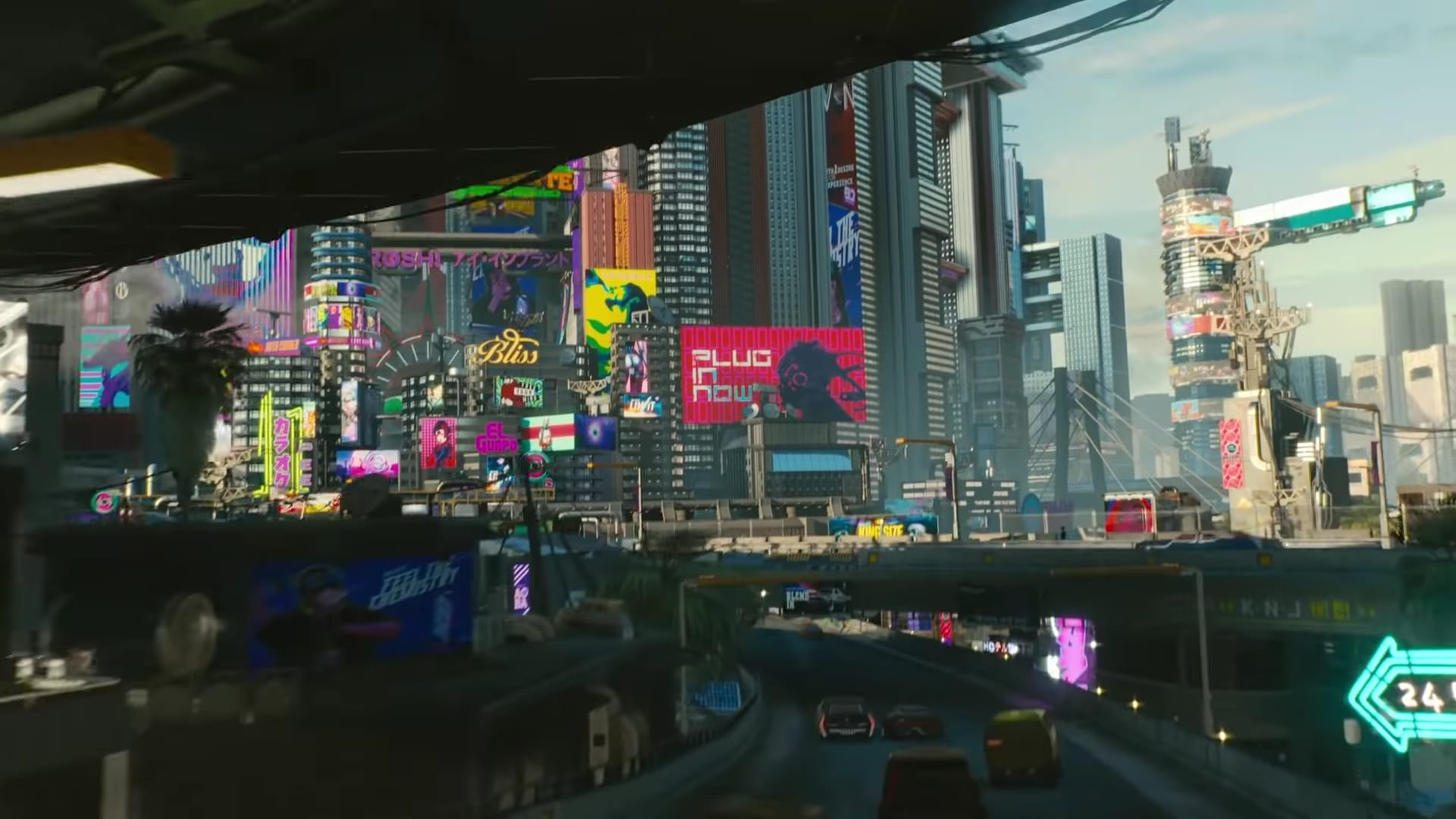This Fan Made 3D Render of Cyberpunk 2077's Night City Is Awesome