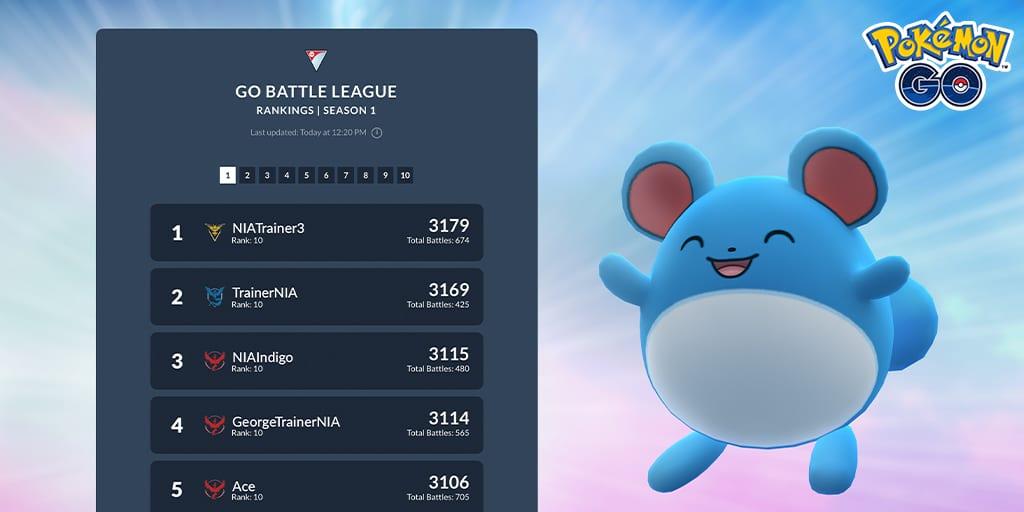 pokemon go, battle league
