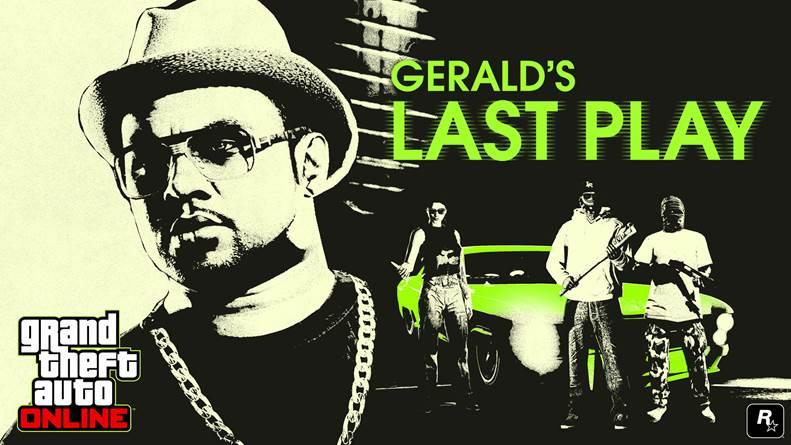 gerald's last play, GTAV, GTA Online