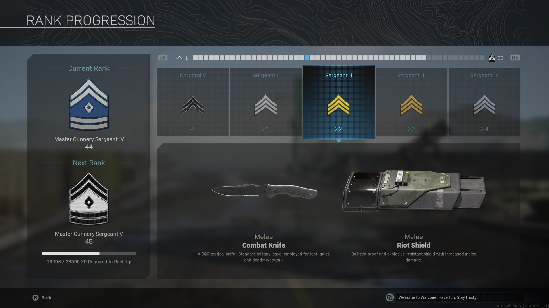 How to Unlock a Combat Knife in Warzone