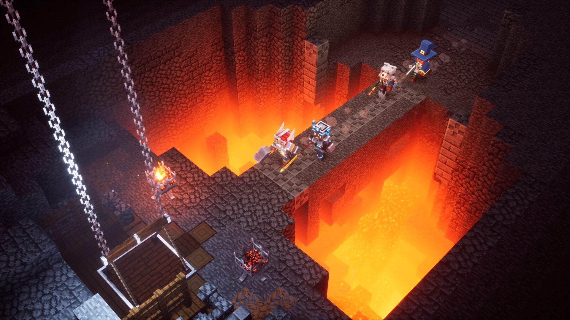 Minecraft dungeons decorate house