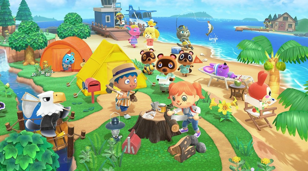 animal crossing new horizons, blue roses
