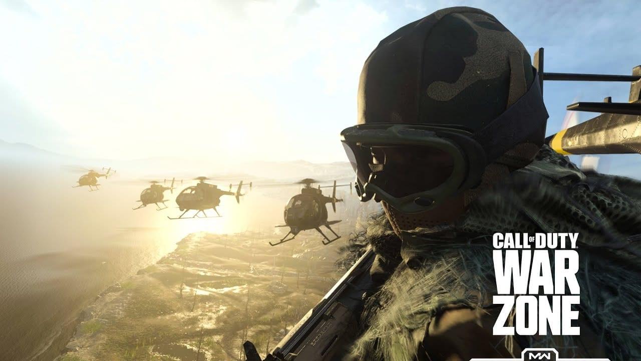 Call of Duty Warzone, mini map square