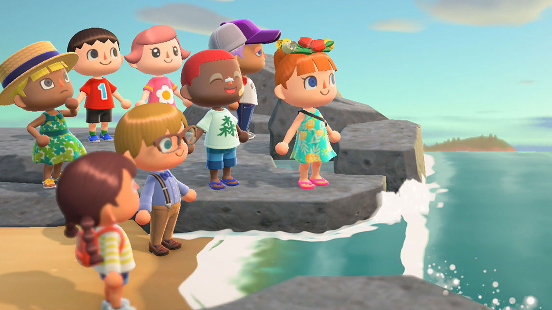 Famous painting animal crossing new horizons