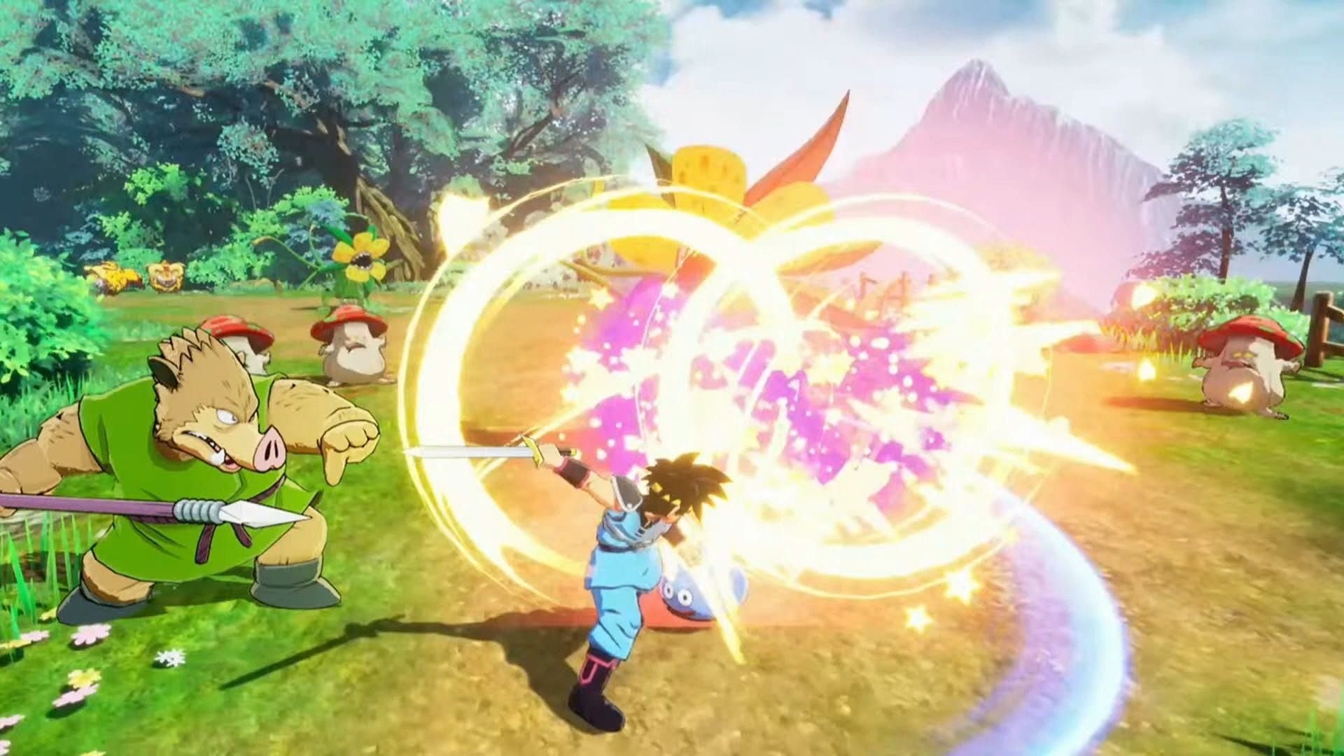 Dragon Quest: The Adventure of Dai - Infinity Strash - Gameplay