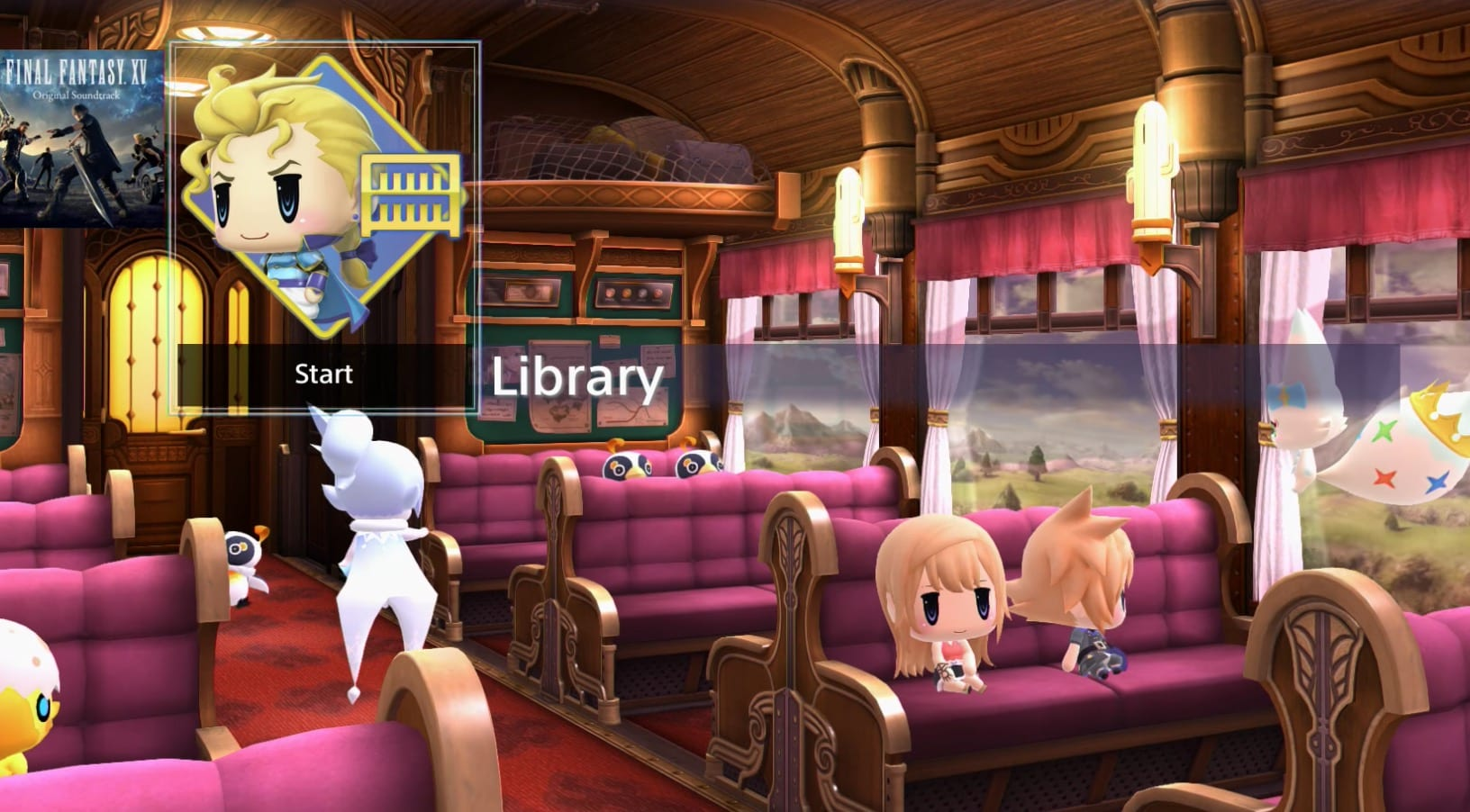 free ps4 dynamic theme, world of final fantasy