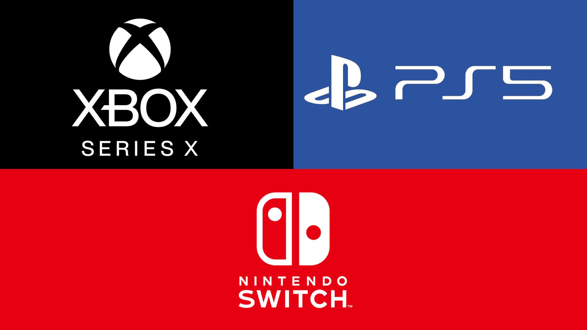 Xbox Series X PS5 Switch Logo