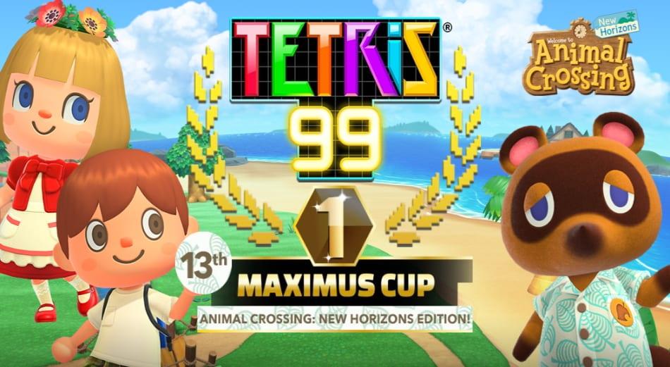 tetris 99, animal crossing