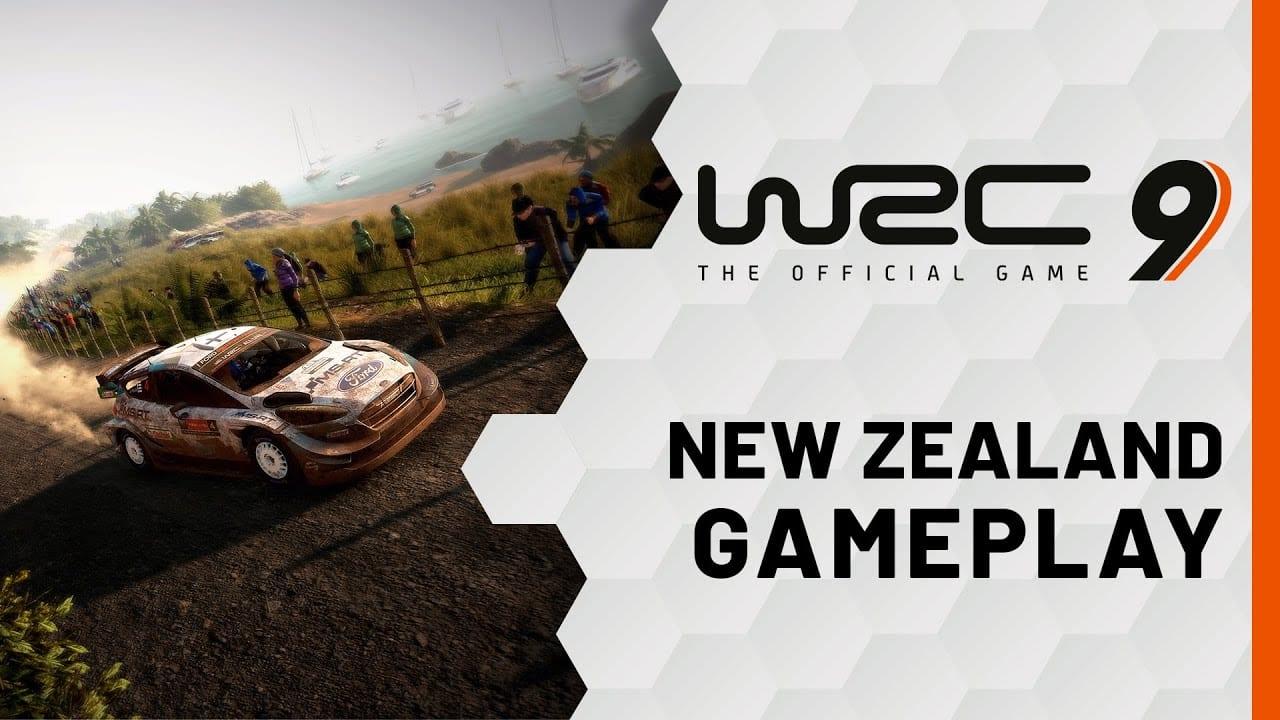 WRC 9, new zealand, gameplay