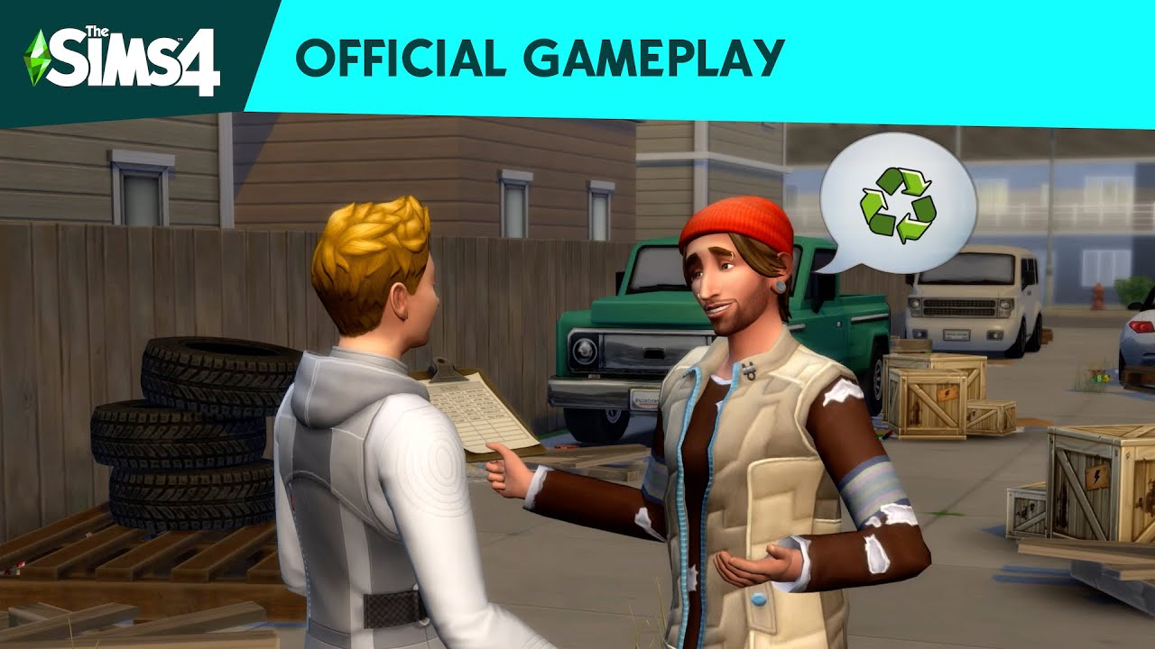 Sims 4, eco expansion