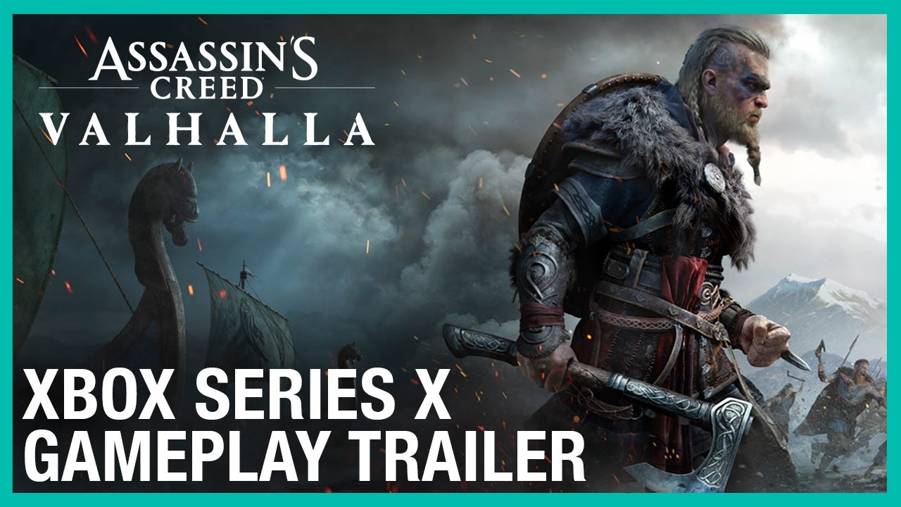 xbox series x, valhalla, gameplay, assassin's creed