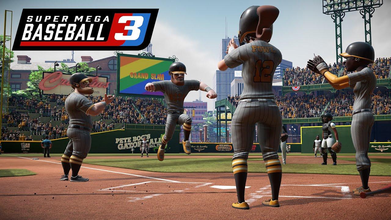 super mega baseball 3, pennant race mode