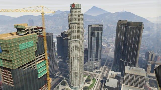 gtav, maze tower