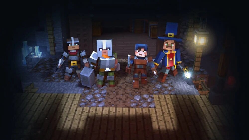 minecraft dungeons, enchant weapons