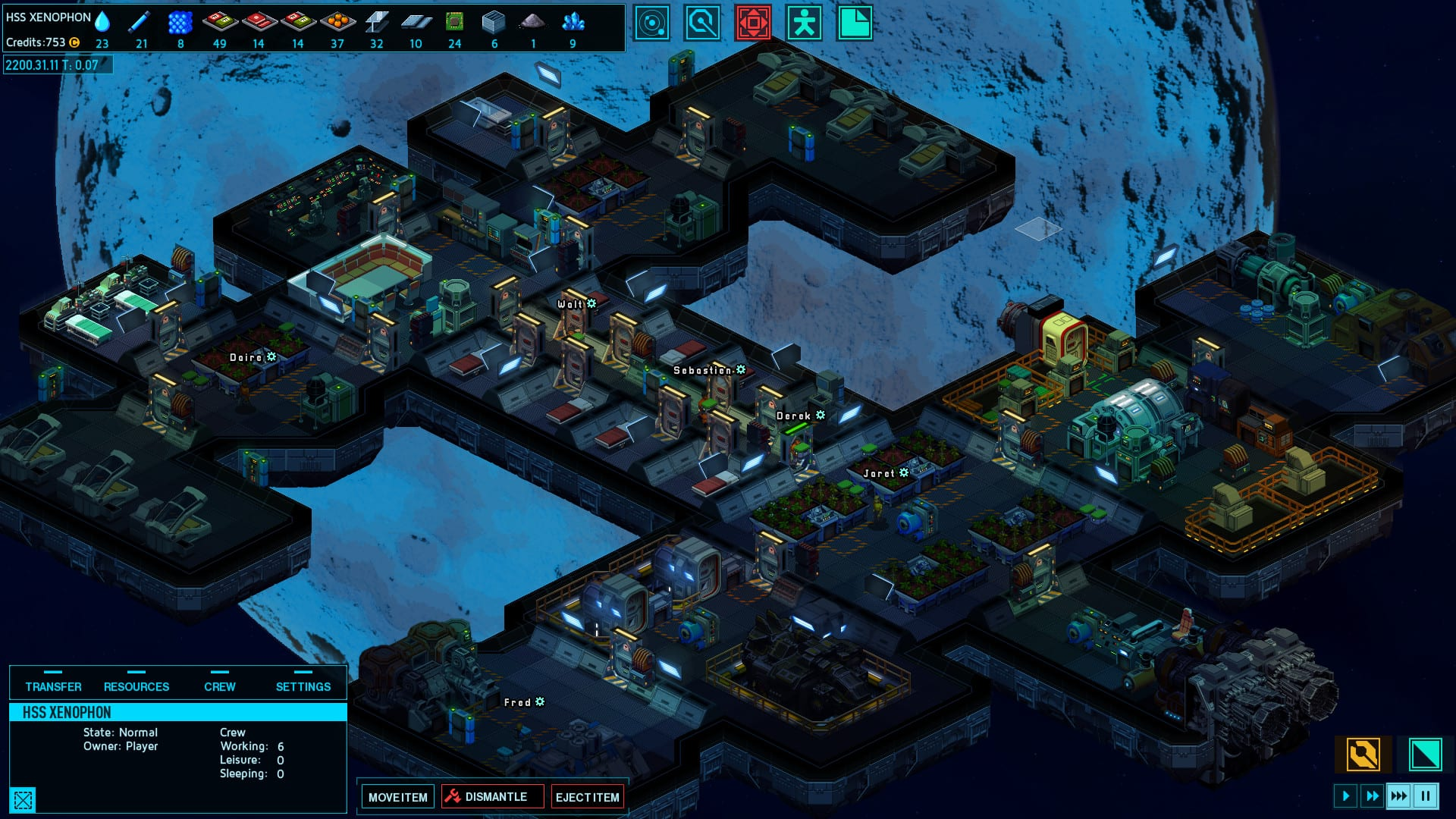 Space Haven, How to Salvage