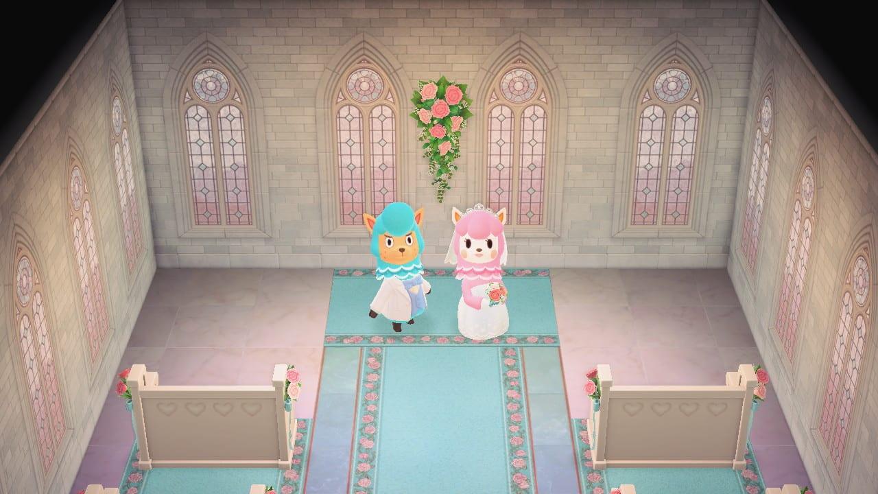animal crossing new horizons, wedding season rewards
