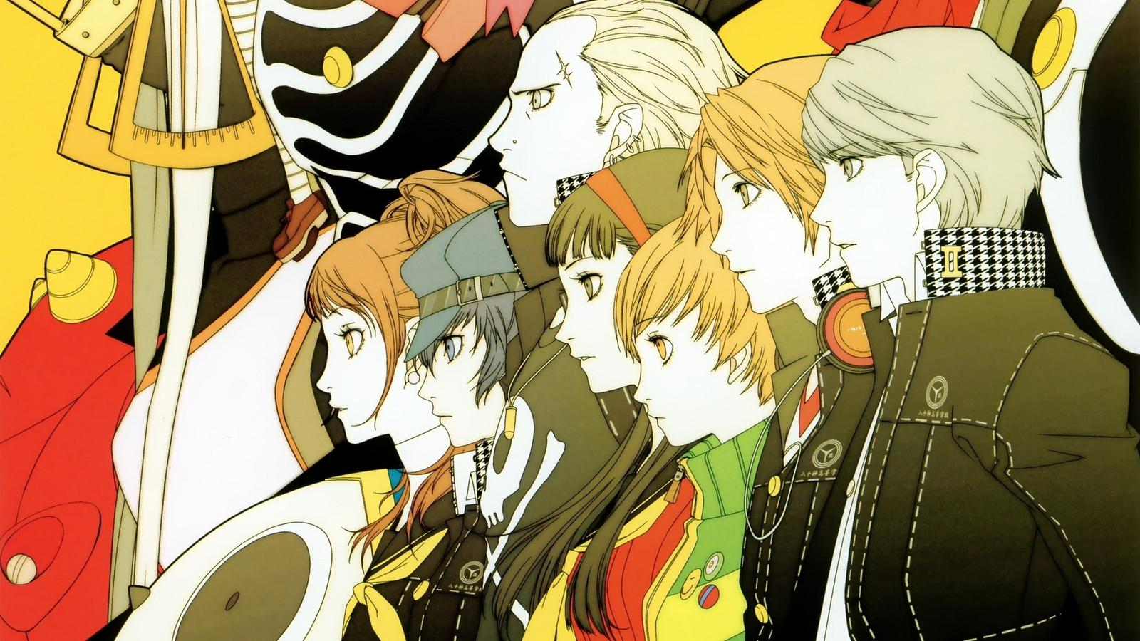 persona 4 golden, japanese voices