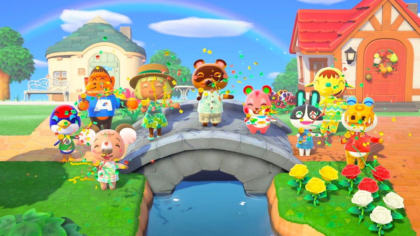 animal crossing new horizons, large snowflakes