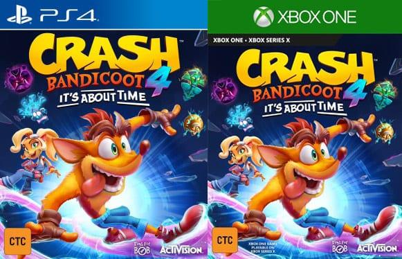 crash bandicoot, about time