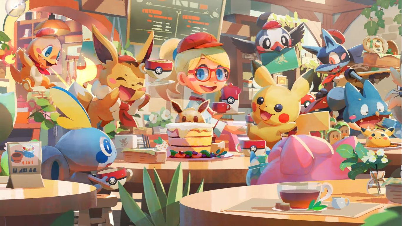 Pokemon Cafe Mix