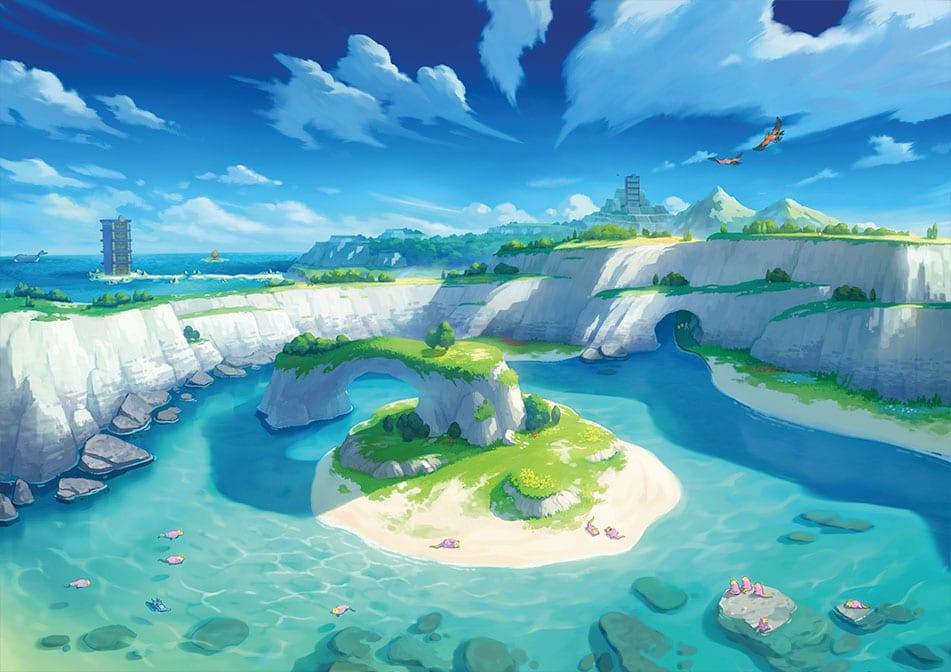 pokemon, isle of armor, weather