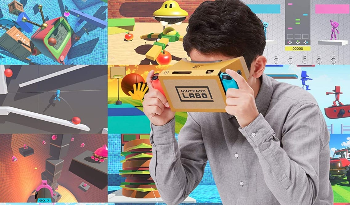 Nintendo Labo vr amazon