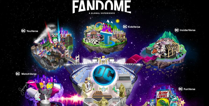 DC Unveils New Digital Event DC FanDome