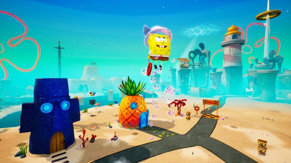 spongebob, battle for bikini bottom, cruise bubble