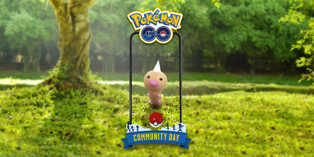 weedle community day, June community day