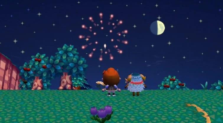 animal crossing fireworks