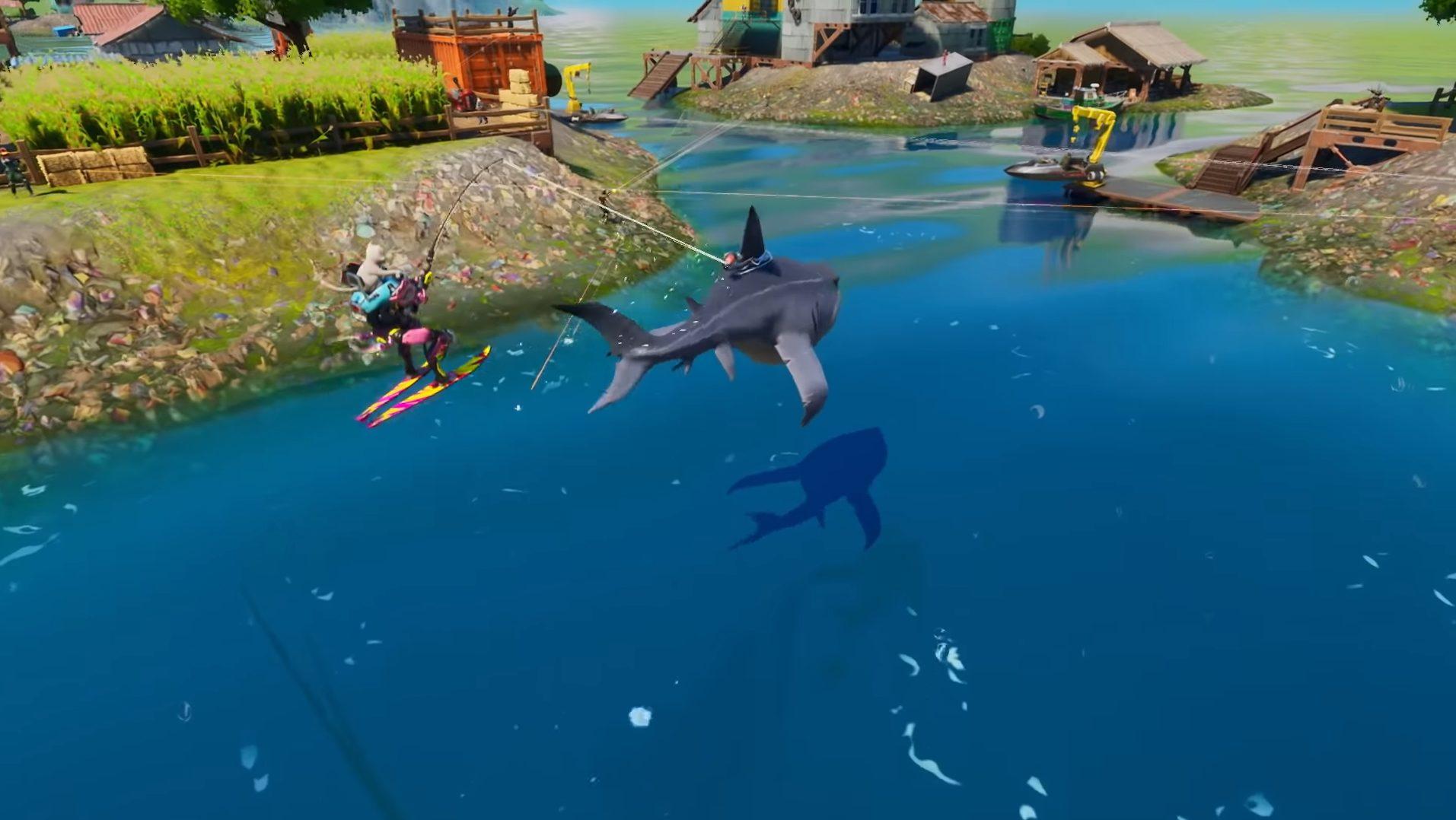 fortnite loot sharks