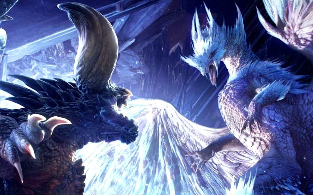 iceborne, monster hunter world