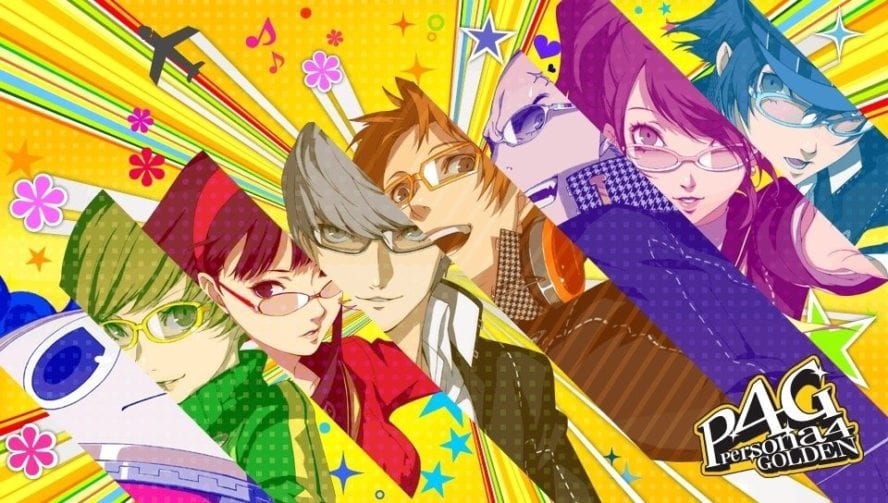 persona 4 golden, install size