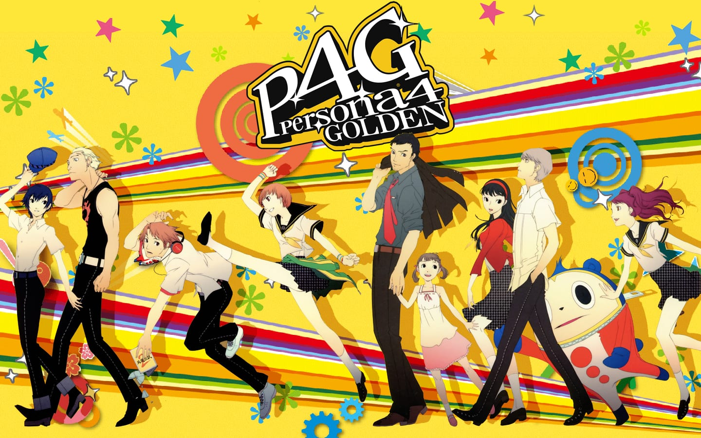 persona 4 golden romance characters