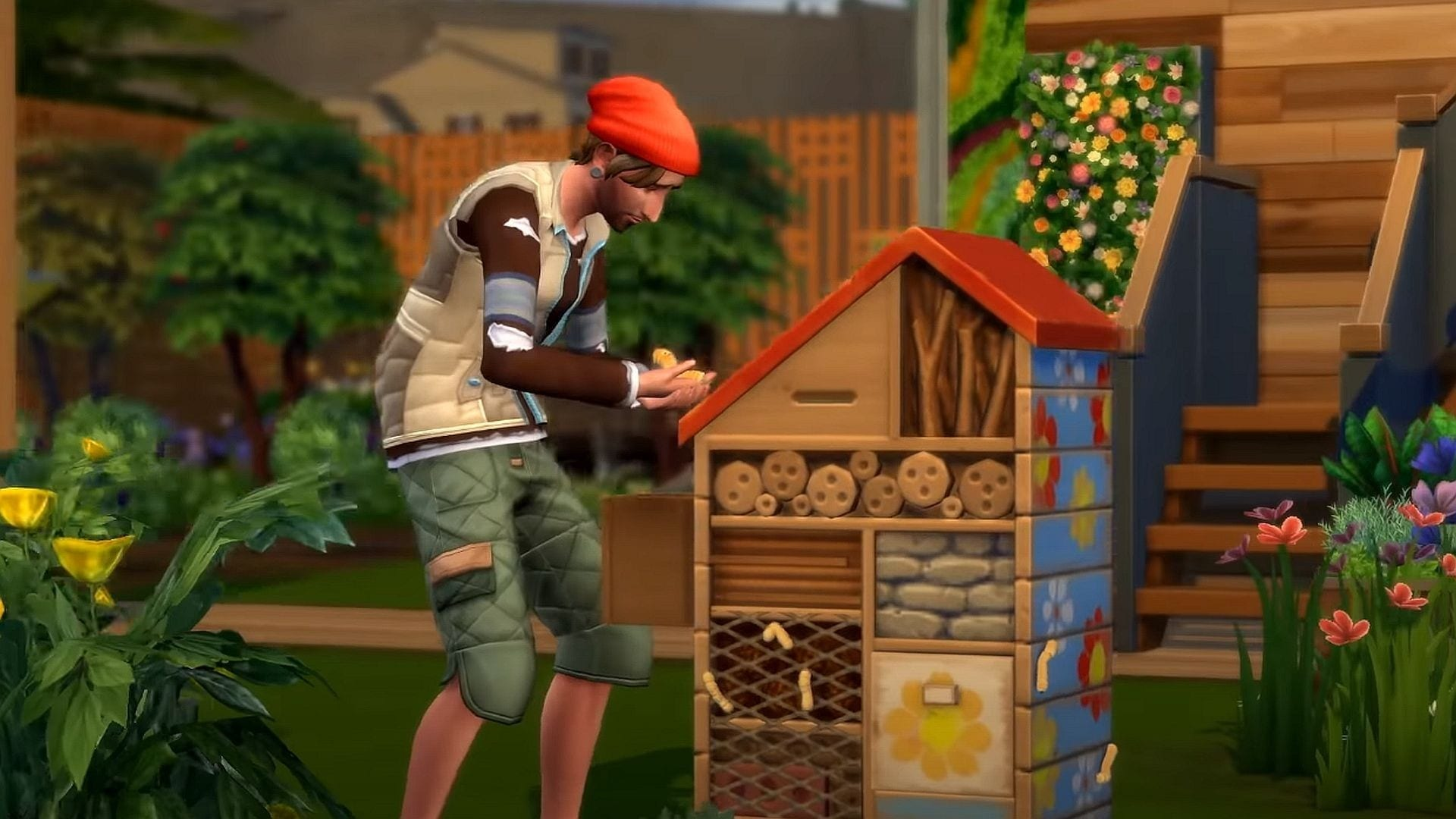 freelance crafting career, the sims 4, eco lifestyle