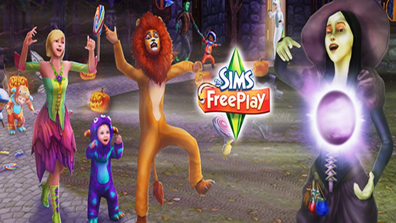 sims freeplay trick or treat