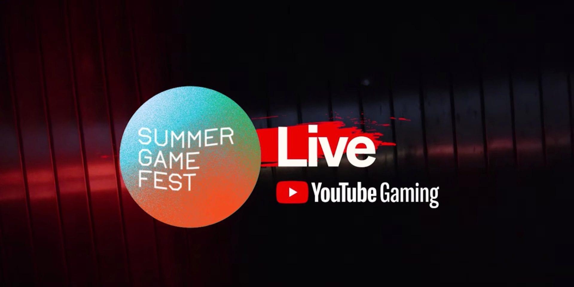YouTube Summer Game Fest Partnership