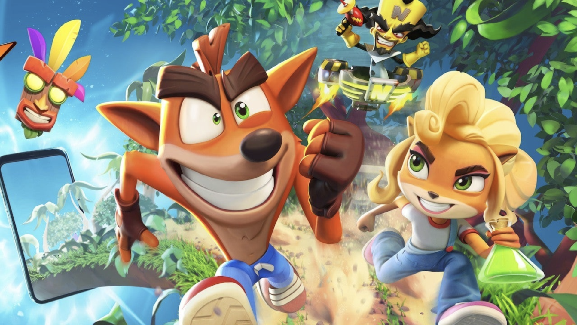 Crash Bandicoot On The Run officially announced for mobile