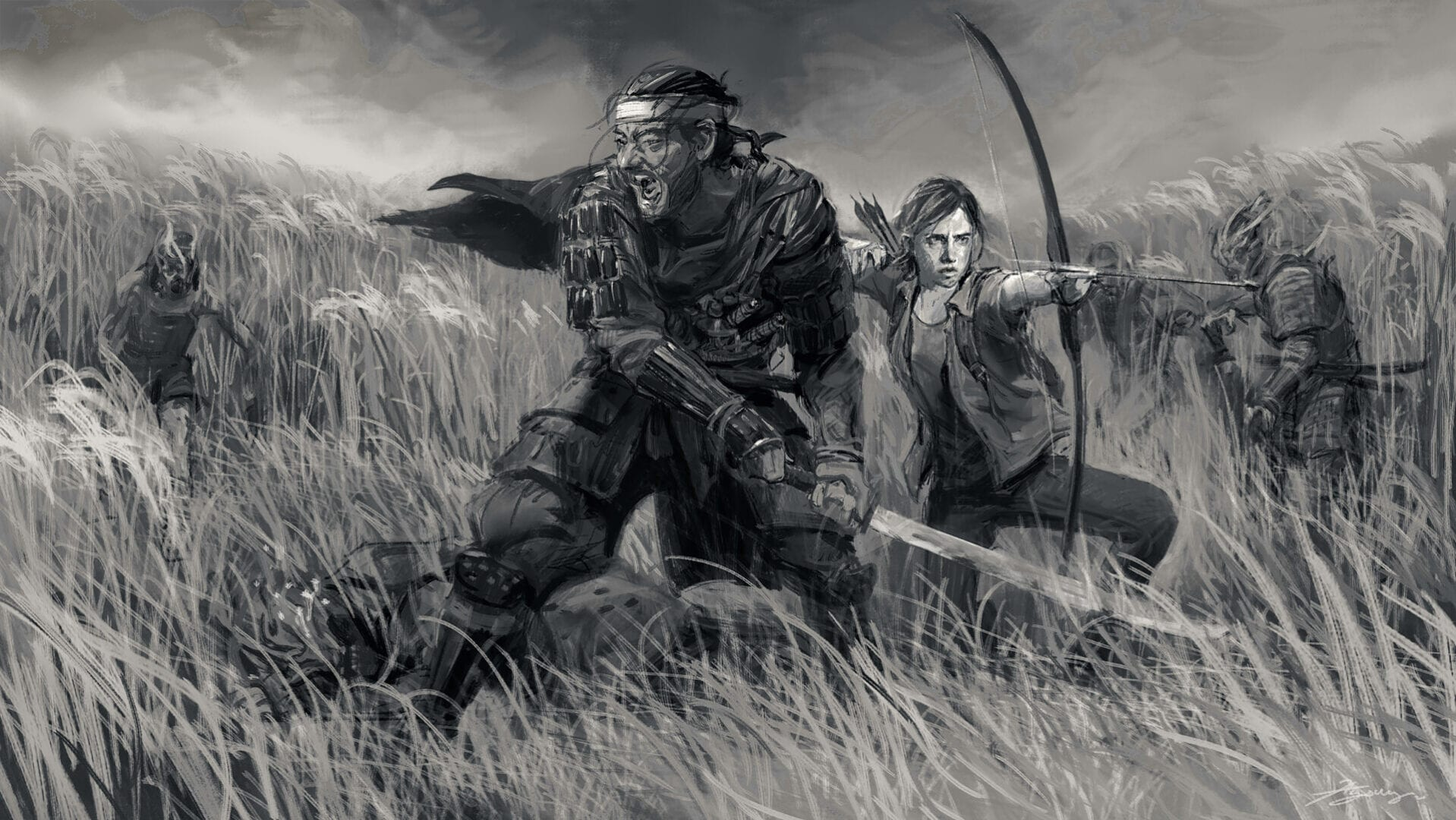 Ghost of Tsushima The Last of Us Part II