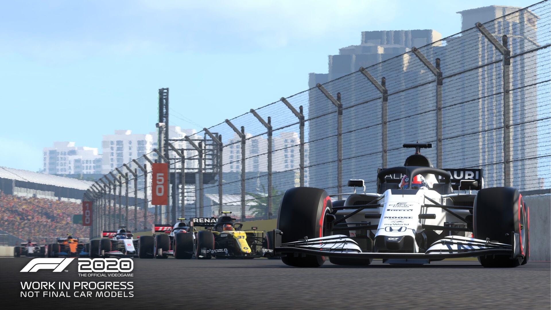 f1 2020, podium pass