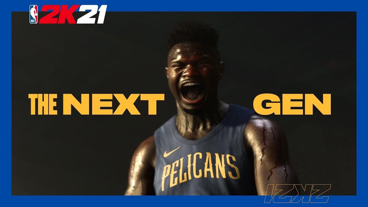 NBA 2K21 Zion